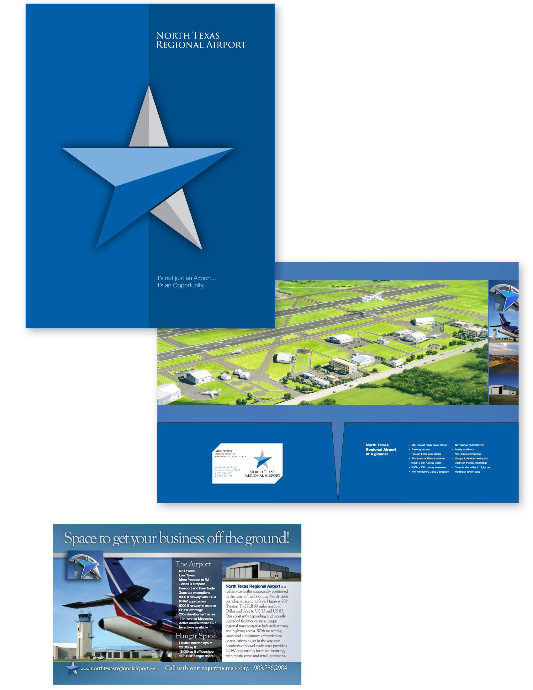 North Texas Regional Airport Scott Peck