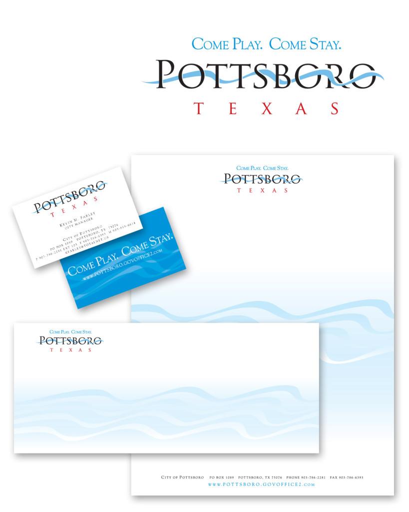 Pottsboro branding